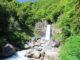 戸隠神社の帰りに苗名滝へ寄って、食堂ニューミサへ